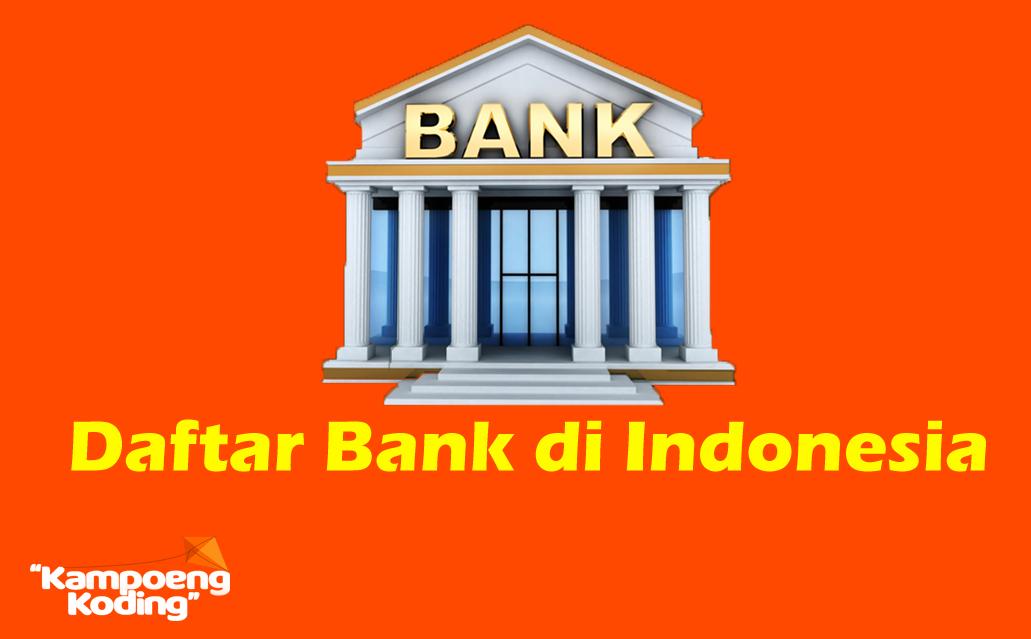 DATABASE SQL BANK SELURUH INDONESIA